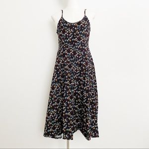 Who What Wear Floral Sleeveless Dress Size Small